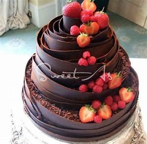 133 best images about Fresh fruit wedding cakes on ...