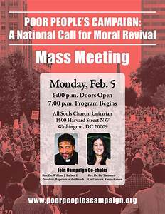 Poor People's Campaign: Mass Meeting in Washington, D.C ...