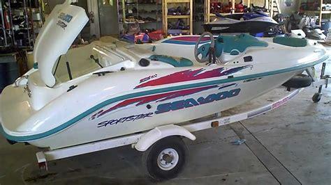 Seadoo Boat Motor by Lot 1316a 1995 Sea Doo Sportster Jet Boat 657x Engine