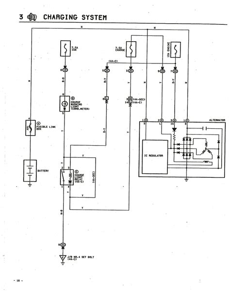 4age Wiring Diagram by Toyota 4age Alternator Wiring