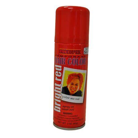 walmart temporary hair color goodmark temporary hair color spray orange walmart