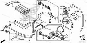 Honda Atv 2016 Oem Parts Diagram For Battery