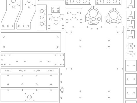This Is The Dxf File For Annirouter Boards And Parts