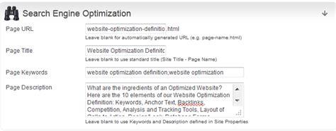 website optimization definiton by viktor grant earthgrid - Website Optimization Definition