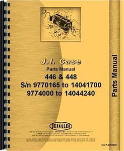 Case 446 Lawn  U0026 Garden Tractor Parts Manual