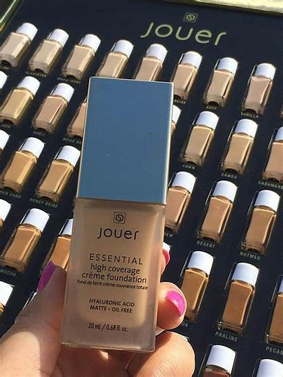 Foundation Jouer Coverage Swatches Shades Creme Essential