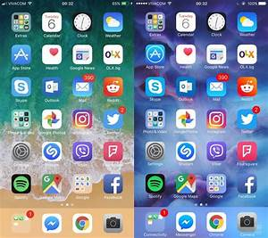 iOS 11 vs. iOS 10 in pictures: Here are some of the ...