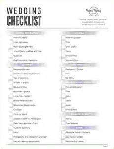 simple wedding planning checklist wedding checklist jpg pay stub template - Basic Wedding Checklist