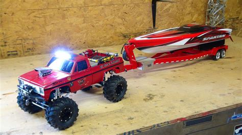 RC ADVENTURES - Beast 4x4 with a Cormier Boat Trailer ...