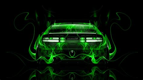 nissan zx jdm  fire abstract car  el tony