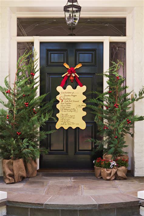 front doorway christmas decorations 31 creative front door decorations