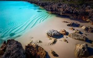 Beach, Landscape, Nature, Rock, Sand, Sea, Turquoise, Water, Wallpapers, Hd, Desktop, And, Mobile