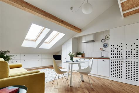 Small Attic Apartment on Only 19 sqm. ? Adorable Home