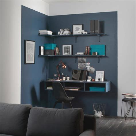 espace bureau dans salon 17 meilleures idées à propos de couleurs de peinture de