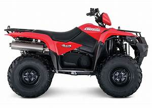 Suzuki Announces Additional 2016 Atv Models