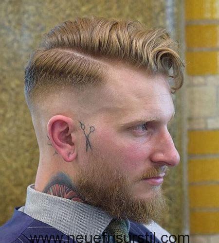 seitenscheitel mit bart style men  beard