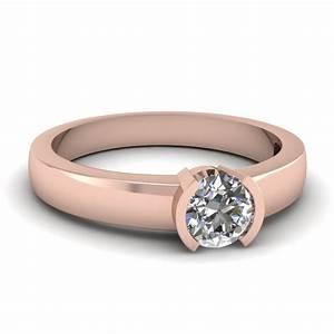 half bezel engagement ring fascinating diamonds With bezel wedding ring