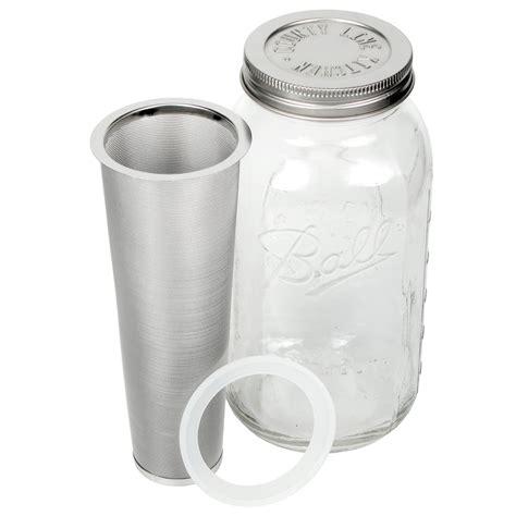 county  kitchen mason jar cold brew coffee maker