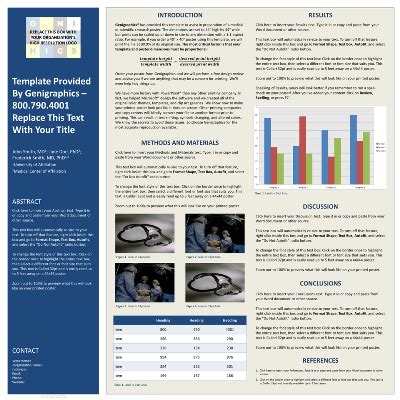 poster template   powerpoint research poster
