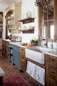 48, Beautiful, Farmhouse, Kitchen, Decor, Ideas