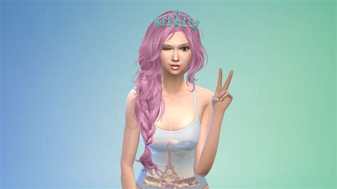 Sims 3 Custom Content Hair Colors  Hairstyle Gallery