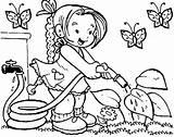 Gardener sketch template