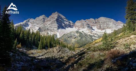 snowmass colorado maroon bells wilderness alltrails map trails