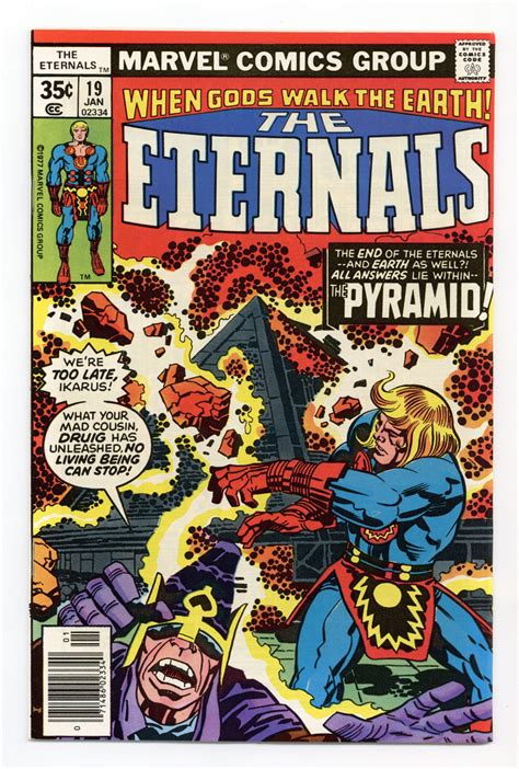 Eternals (1976 1st Series) 19 VF+ 8.5