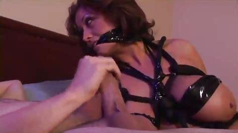 Busty Brunette Bondage Sex
