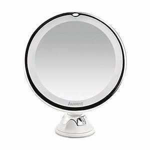 Achat Auxent Miroir De Maquillage LED 7x Agrandissant