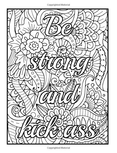adult coloring books with words amazon com be f cking awesome and color an adult