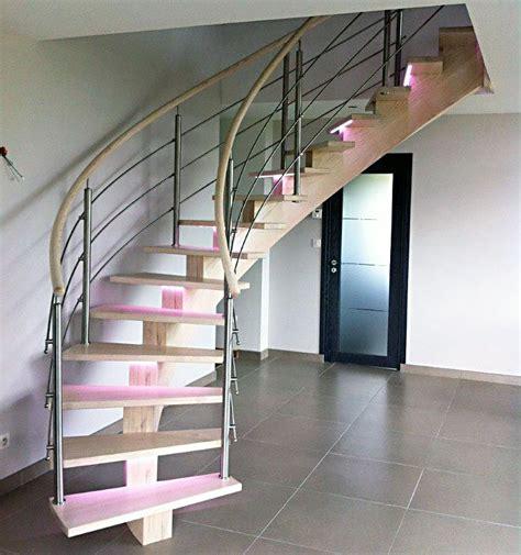eclairage led escalier interieur escalier en bois 233 clairage led divinox