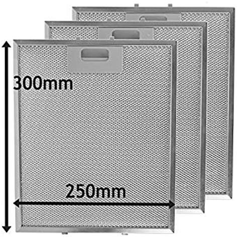 how to clean kitchen exhaust fan mesh spares2go universal cooker hood metal mesh grease filter