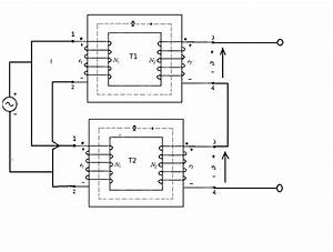 Does combining two separate transformers double the for Wiring multiple transformers in series