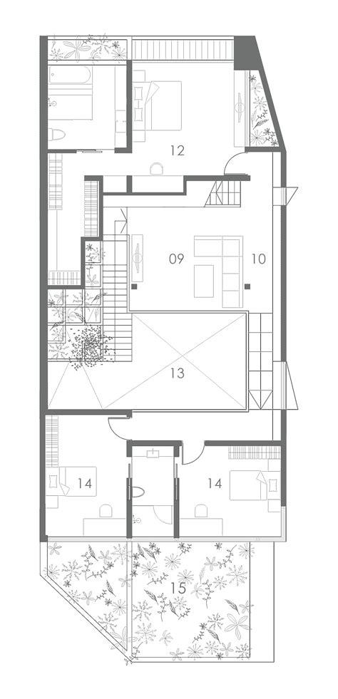 housing blueprints galería de casa con terraza formwerkz architects 11