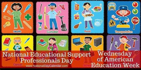 national education support professionals day wednesday