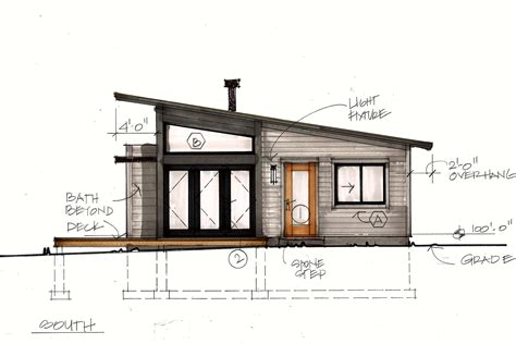 cabin plans modern small modern mountain home plans