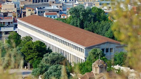 Century Tile by Stoa Of Attalos In Athens Expedia