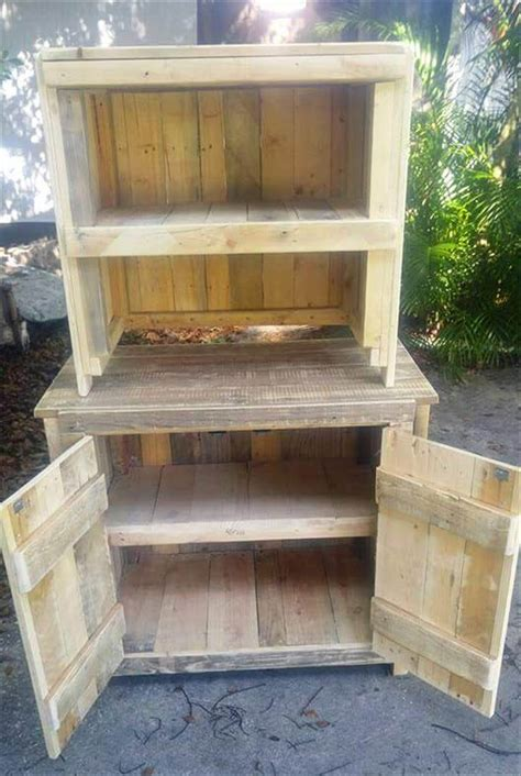 building cabinets out of pallets 30 diy pallet ideas for diy home decor pallet furniture diy