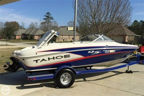 Tahoe Boats For Sale Louisiana by Used Tahoe Q5i Sf Boats For Sale In United States Boats