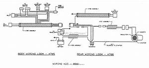 Dixon Ztr 4422  1995  Parts Diagram For Wiring Assembly