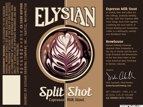 Image result for elysian split shot