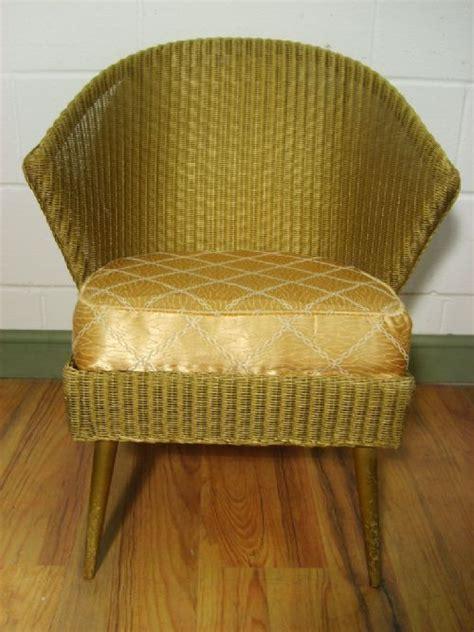 vintage deco lloyd loom chair 189351