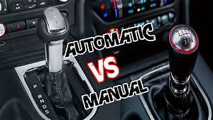 Automatic Vs Manual Transmission   Which One Is Better