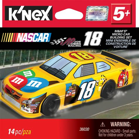 18 Car Nascar by K Nex Nascar 18 Joe Gibbs Racing M M S Car Building Set