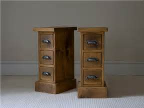 Oak Lamp Table With Drawer by Old And Vintage Pair Of Small Bedside Nightstand Table