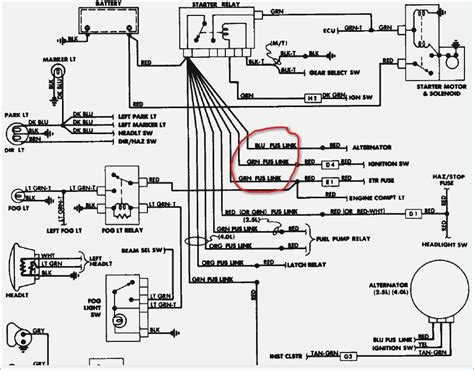 1988 jeep comanche wiring diagram vivresaville