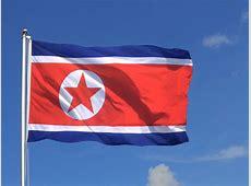 Große Nordkorea Flagge 150 x 250 cm FlaggenPlatzde