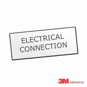 electrical connection engraved traffolite label With engraved electrical panel labels