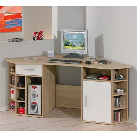 Small Corner Desk With Shelves by Cheap Corner Desks Budget Friendly And Room Beautifier